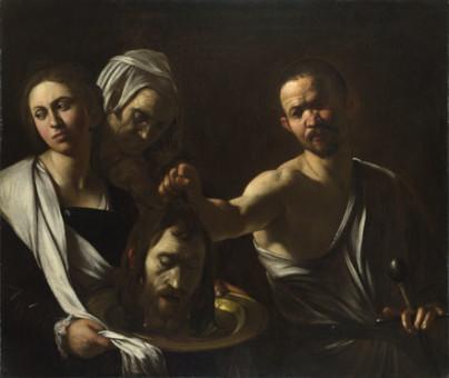 Michelangelo Merisi da Caravaggio-salome-receives-head-saint-john-baptist