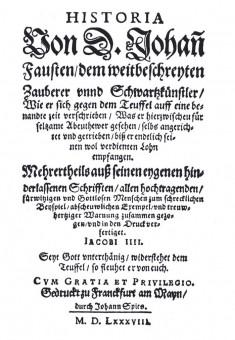 Faust-Volksbuch -1587-700