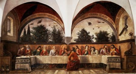 Ghirlandaio-cenacolo-1480-Ognissanti-1100