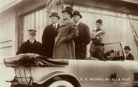 MUSSOLINI-FIAT-700